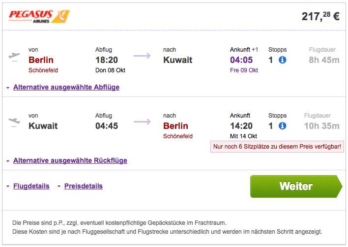 travel cheaper spezialpreise mit pegasus airlines berlin kuwait berlin ab 217 statt 285. Black Bedroom Furniture Sets. Home Design Ideas